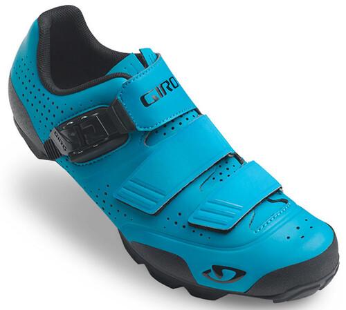 Chaussures Turquoise Giro Avec Des Hommes De Fermeture Velcro 90MK7Sy